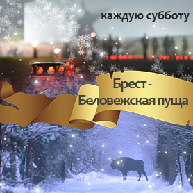 Экскурсия Брест - Беловежская пуща зима 2018